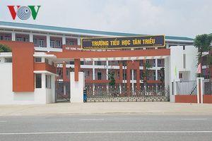 Phụ huynh Tân Triều lo ngại về tình trạng ô nhiễm quanh trường học