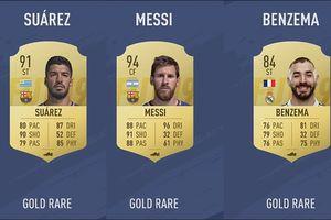 10 tiền đạo xuất sắc nhất La Liga trong FIFA 19: Messi vẫn là vua