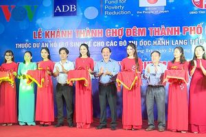Khai trương chợ đêm thành phố Đông Hà, tỉnh Quảng Trị