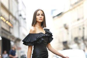 Hoa hậu hoàn vũ 2012 Olivia Culpo thả dáng quyến rũ tại Paris