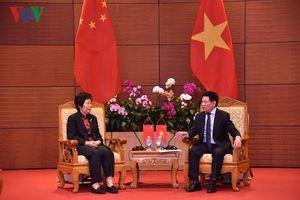 Tổng Kiểm toán Nhà nước Việt Nam hội đàm Tổng Kiểm toán Nhà nước Trung Quốc