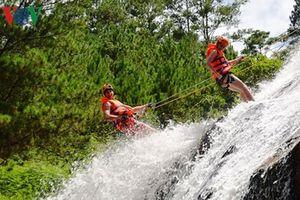 Lâm Đồng tạm dừng tour du lịch mạo hiểm vượt thác Datanla