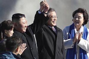 Tỷ lệ ủng hộ Tổng thống Hàn Quốc tăng sau họp thượng đỉnh liên Triều