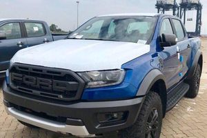 Ford Ranger Raptor cập cảng Sài Gòn, chuẩn bị ra mắt vào tháng 10