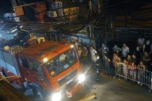 Vụ hỏa hoạn gần BV Nhi T.Ư: Ông Hiệp 'khùng' đến thăm hỏi gia đình nạn nhân tử vong