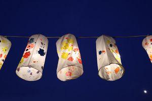 400 đèn lồng lung linh đón trung thu ở Hà Nội