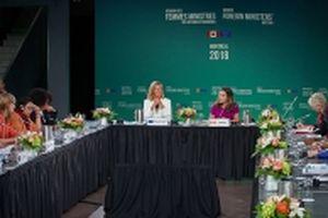 Khai mạc Hội nghị các nữ bộ trưởng ngoại giao đầu tiên