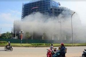 Cháy Trung tâm Thương mại, khách sạn và tổ chức sự kiện Tôn hoa Sen Yên Bái