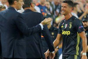 HLV Juventus xoa dịu áp lực cho Ronaldo