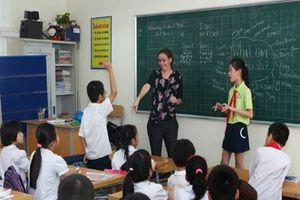 Hướng dẫn dạy học tiếng Anh tăng cường có giáo viên nước ngoài