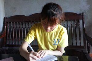 Nữ sinh Nguyễn Thị Nga được nhập học Trường Đại học Y khoa Vinh