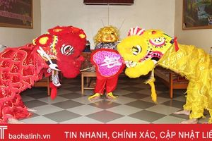 Mùa múa lân sư ở Hà Tĩnh