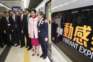 Tuyến đường sắt Hồng Kông-Quảng Châu chạy chuyến đầu tiên