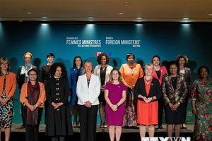 Hội nghị các nữ Ngoại trưởng tại Canada là 'thời khắc lịch sử'