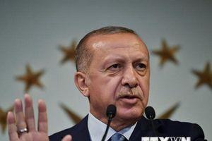 Tổng thống Thổ Nhĩ Kỳ khẳng định nỗ lực cải thiện quan hệ với Đức
