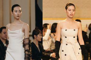 Siêu mẫu Bạc - Đồng Khánh Vân, Đông Hạ 'tả xung hữu đột', xuất thần trong show thời trang