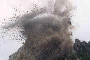 Nổ mìn khai thác đá khiến một người phụ nữ đi hái nấm tử vong