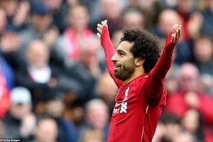 Salah ghi bàn, Liverpool tạm chiếm ngôi đầu bảng của Chelsea