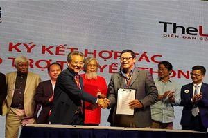TheLEADER ký kết hợp tác truyền thông với CLB Doanh nhân và quản trị