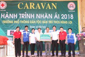 Hanoisme: Caravan hành trình nhân ái, chia sẻ yêu thương