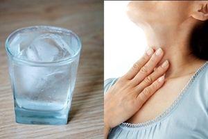 Tác hại khôn lường từ việc uống nước đá