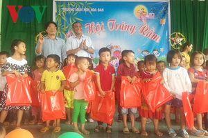 VOV Tây Nguyên tổ chức Trung thu cho trẻ em nghèo ở Đắk Lắk