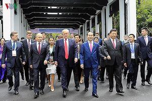 Hình ảnh Chủ tịch nước Trần Đại Quang tại Tuần lễ cấp cao APEC 2017