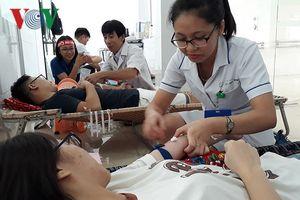 Hiến máu cho trẻ em nhiễm bệnh tan máu bẩm sinh