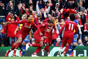 Thắng dễ Southampton, Liverpool tạm chiếm ngôi đầu Ngoại Hạng Anh