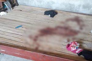 Công an tạm giữ người bố điều tra nghi án cứa cổ con gái đến chết