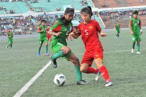 Đạt thành tích ấn tượng, U16 nữ Việt Nam bước vào vòng 2 U16 nữ Châu Á 2019