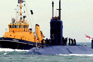 Truyền thông Anh lật ngược tin tàu ngầm Anh tiến gần bờ Syria?
