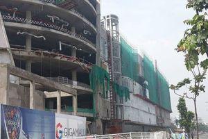 Nguyên nhân 3 công nhân ngã từ tầng 4 công trình trung tâm thương mại bị thương nặng