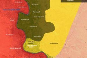 Sau thời gian làm mưa làm gió, IS bị SDF trục xuất khỏi thành phố chiến lược Albukamal