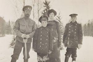 Những bức ảnh chưa từng công bố về cuộc sống gia đình Sa hoàng Nicholas II