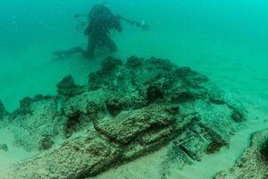 Phát hiện xác tàu đắm từ nhiều thế kỷ trước
