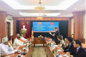 Tăng cường hợp tác trong lĩnh vực tôn giáo giữa Việt Nam - Sri Lanka