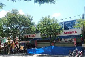 1 đại lý xe máy ở Huế nghi bị đặt quả nổ trước cửa
