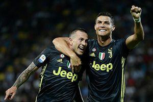 Ronaldo lại ghi bàn giúp Juventus duy trì mạch thắng tại Serie A