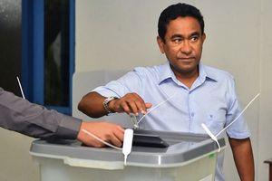 Tổng thống thân Trung Quốc thất bại trong bầu cử ở Maldives