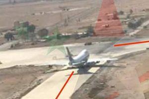 Israel không kích khiến chiếc Boeing Iran rơi lốp