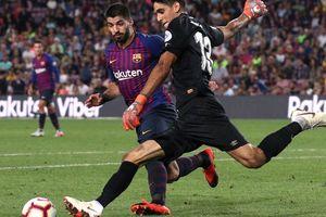 Trọng tài 'bẻ còi' vì VAR, Barcelona suýt trắng tay trước Girona