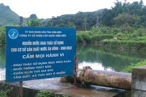 Cần kiểm tra chất lượng nguồn nước sinh hoạt ở thị trấn Tủa Chùa