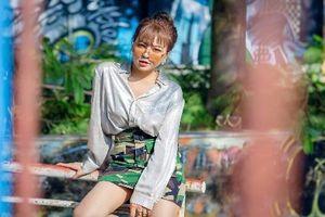 Hot girl Trâm Anh thay đổi hình ảnh sau lùm xùm tình cảm