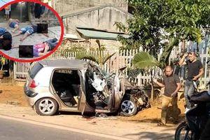 Ô tô con đâm đuôi xe tải, nạn nhân nằm la liệt trên đường