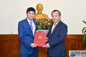 Bổ nhiệm Phó Chủ nhiệm Ủy ban Nhà nước về người Việt Nam ở nước ngoài