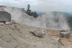 Thừa Thiên- Huế: Nổ mìn ở mỏ đá, một phụ nữ tử vong