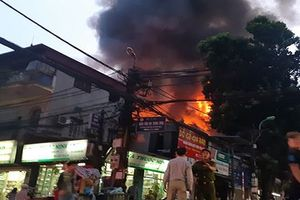 Công bố nguyên nhân vụ cháy dốc Viện Nhi làm 2 người chết