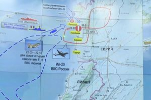 Nga tái hiện máy bay quân sự Il-20 bị bắn rơi ở Syria