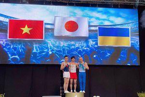 Lê Thanh Tùng giành HCB Cup Thể dục dụng cụ thế giới
